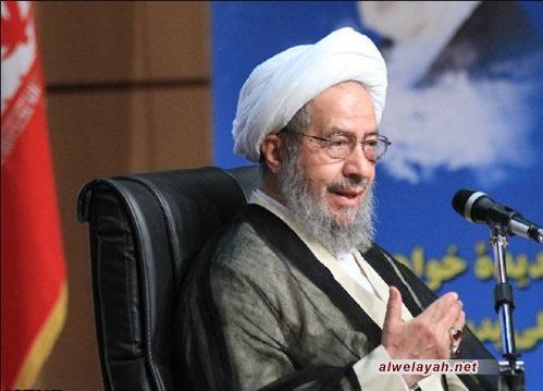 آية الله مقتدائي: أصابع أعداء الثورة الإسلامية مشهودة في الأحداث الأخيرة