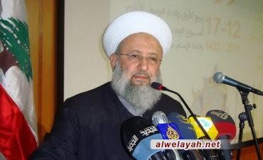الشيخ ماهر حمود: المقاومة لن تتوقف رغم كل المؤامرات