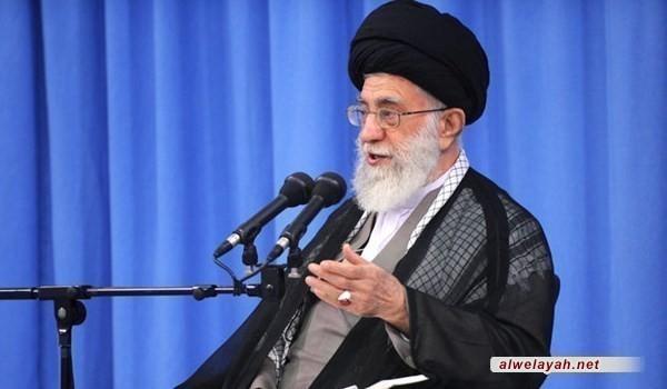 الإمام الخامنئي: نعمل لامتلاك أي وسيلة للدفاع ولو اعترض العالم كله