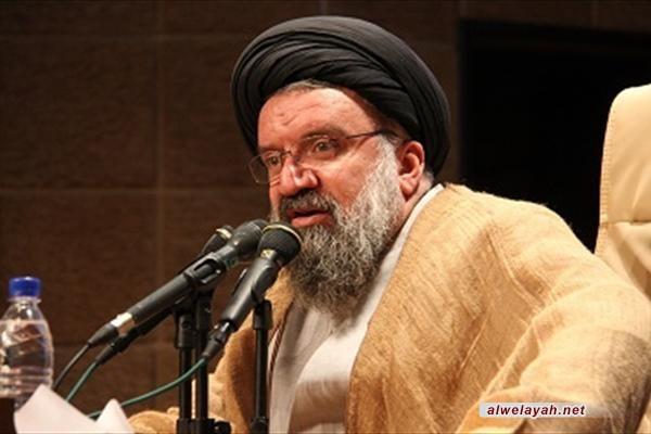 آية الله خاتمي:  دعم فلسطين يأتي في سياق الدفاع عن الثورة الإسلامية