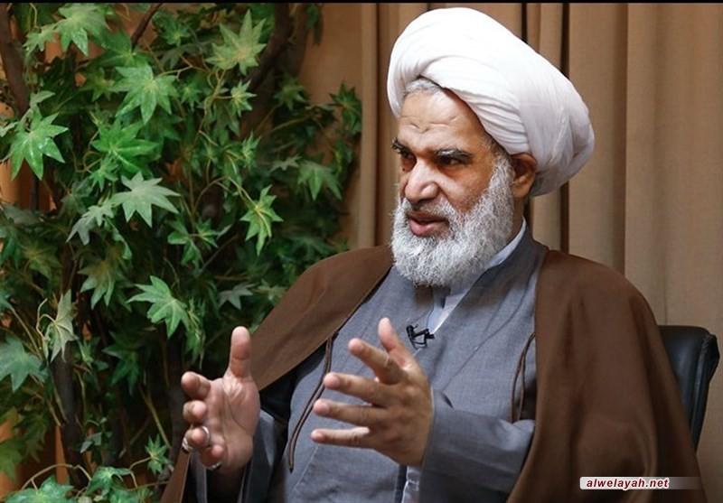 آية الله الشيخ عباس الكعبي: العدو يشن حرب إعلامية ونفسية على الجمهورية الإسلامية