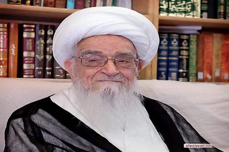 المرجع صافي الكلبايكاني: أي خطوة في سبيل خدمة زوار الإمام الحسين تعد عملا عظيما