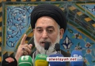 إمام جمعة النجف الاشرف: انتصار ثورة إيران، هو انتصار للإسلام والشعوب المستضعفة