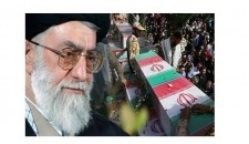 قائد الثورة الإسلامية یوجه رسالة شکر وتقدیر لمشارکة الشعب الحافلة في مراسم تشییع 270 شهیدا