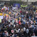 مسيرات مليونية في يوم مقارعة الاستكبار العالمي في مختلف أنحاء إيران