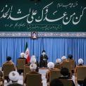 الإمام الخامنئي خلال اجتماعه بأعضاء مجلس الخبراء؛ اعتمادا علی متطلبات البلاد قد يرتفع تخصيب اليورانيوم إلى 60%