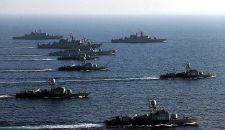 حرس الثورة الإسلامية يستعرض قدراته البحرية في الخليج الفارسي