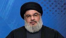 السيد نصر الله يشيد بدعم الجمهورية الإسلامية السخي في الحرب ضد الجماعات الإرهابية