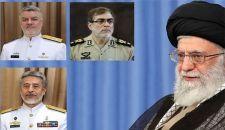 قائد الثورة الإسلامية يصدر قرارا بتعيين ثلاثة من قيادات الجيش