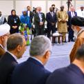تقرير مصور للقاء المشاركين في الدورة الثالثة عشر لاتحاد مجالس منظمة التعاون الإسلامي مع الإمام الخامنئي