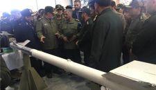 """الحرس الثوري يزيح الستار عن صاروخ """"آذرخش"""" المضاد للدروع"""
