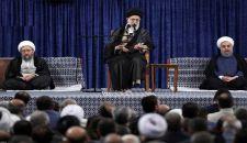 قائد الثورة الإسلامية: يجب الوقوف في وجه الهيمنة الأمريكية بقوة وصلابة
