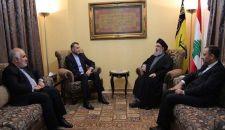 السيد نصرالله يؤكد على الدور الهام لقائد الثورة الإسلامية في التصدي للمخططات التي تستهدف العالم الإسلامي