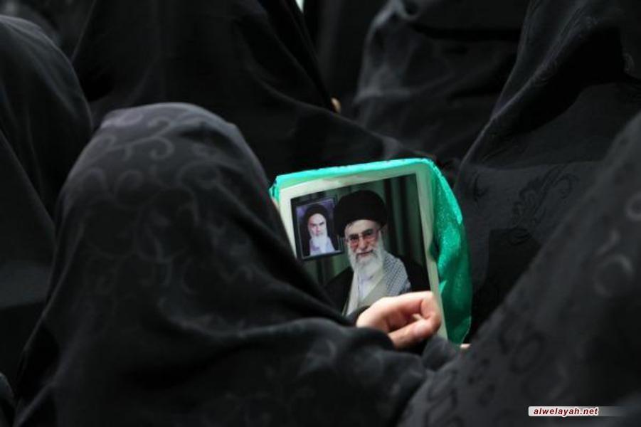تقرير مصور عن لقاء أهالي آذربيجان مع قائد الثورة الاسلامية