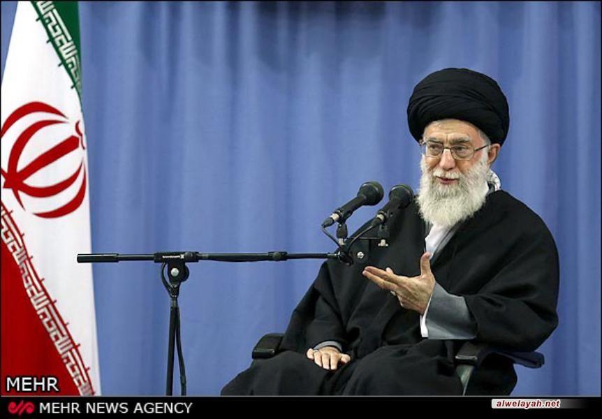 تقرير مصور عن لقاء المعنيين بالرحلات الربيعية مع قائد الثورة الاسلامية
