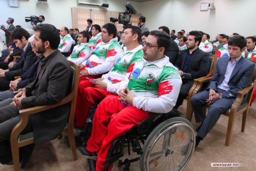 تقرير مصور عن لقاء عدد من الرياضيين مع قائد الثورة
