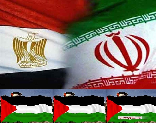 وزير الداخلية الفلسطيني حماد: علاقة إيران ومصر تنعكس إيجابا على العالم العربي والإسلامي