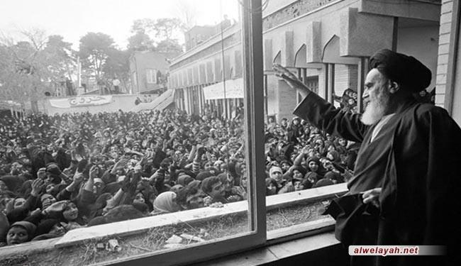 ثورة الإمام الخميني استمرارية لثورة الإمام الحسين (ع) لمحاربة الظلم والطغيان