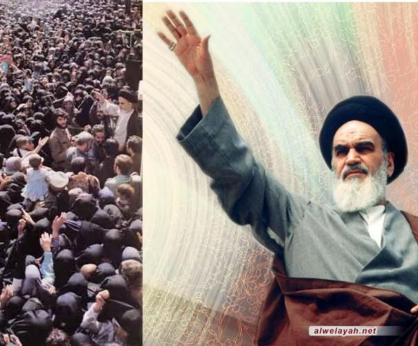 الإمام الخميني الراحل فجّر الثورة وأسس الدولة