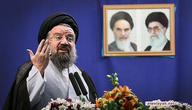 السيد أحمد خاتمي: الإمام الخميني حول قضية فلسطين إلى قضية العالم الإسلامي