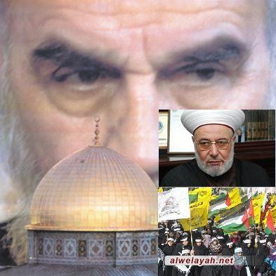 الشيخ غازي حنيني: آثار وبركات يوم القدس العالمي تنمو عاما بعد عام