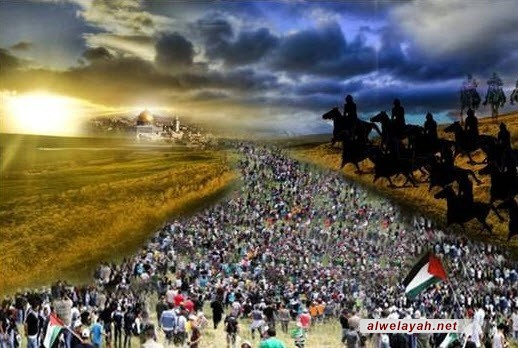 مفتي القدس يدعو الثوار العرب لتحرير المسجد الأقصى