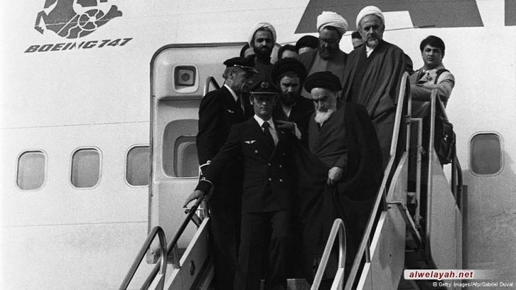 عودة الإمام الخميني (رحمه الله) إلى طهران