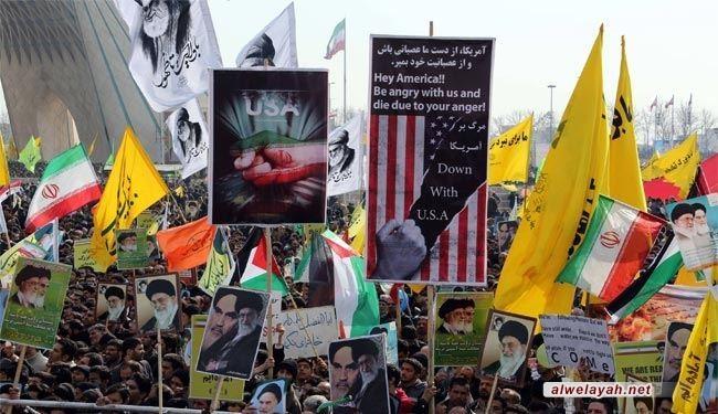 الثورة الإسلامية في عيدها التاسع والعشرين عزة ووحدة واقتدار
