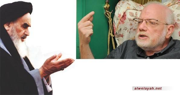 الدكتور أحمد راسم النفيس: نهضة الإمام الخميني مستوحاة من النهضة الحسينية