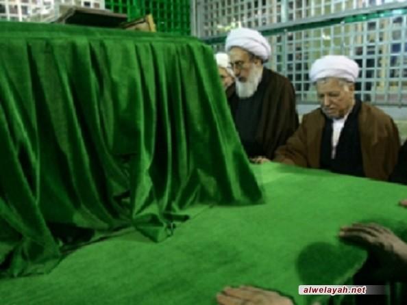 الشيخ رفسنجاني: الثورة الإسلامية معجزة الإمام الخميني في تاريخنا المعاصر