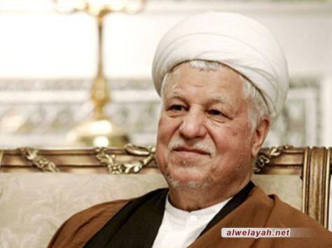 الشيخ رفسنجاني: الشعب قادر على صيانة الثورة الإسلامية