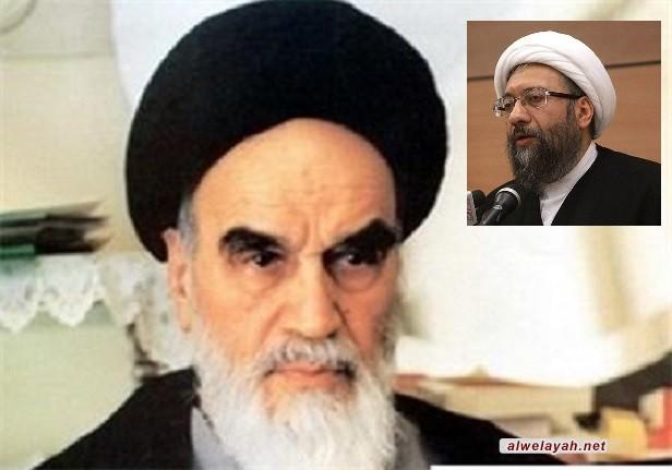 رئيس السلطة القضائية: الإمام الخميني أثبت قدرة الدين على إدارة المجتمع