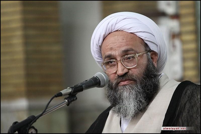 الشيخ محسن الحيدري: انتصار الثورة وصمودها لثلاثة عقود بوجه الاستكبار حطم الأصنام الطاغوتية وأبطل هيمنتها