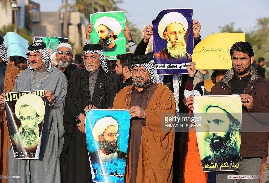 تقرير مصور/ تظاهرات في مختلف الدول احتجاجا على إعدام الشيخ النمر