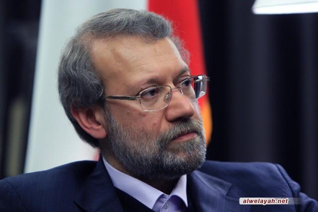 لاريجاني: الثورة الاسلامية هزمت النظريات الدولية القائمة على القهر والبطش
