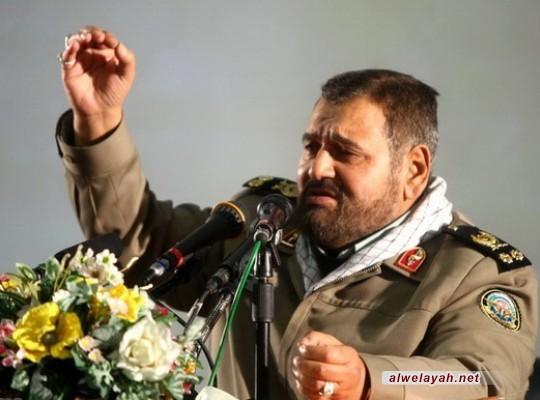 اللواء فيروز آبادي: شعبنا سيدخل اليأس في قلوب الأعداء في مسيراته المليونية