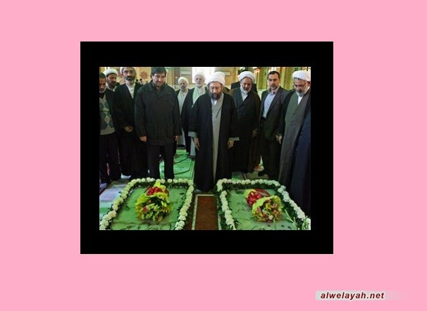 كبار مسؤولي القضاء يجددون العهد مع قيم الإمام الراحل
