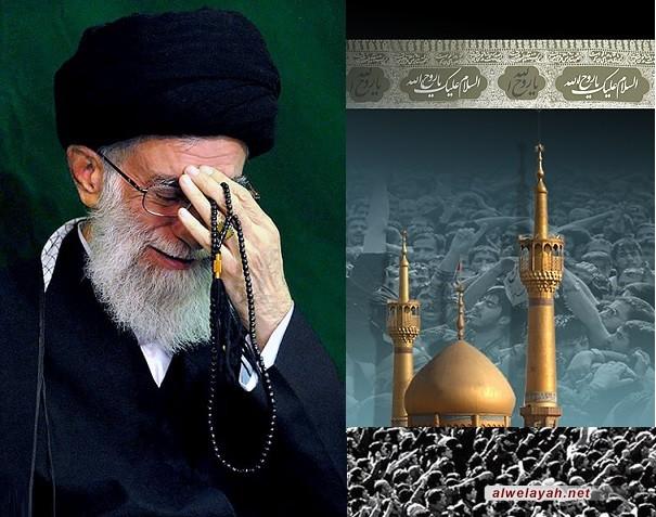 القائد يقيم مجلساً تأبينياً على روح الإمام الراحل