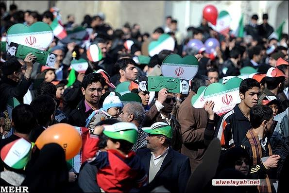 بدء مراسم الاحتفال بالذكرى السنوية الرابعة والثلاثين لانتصار الثورة