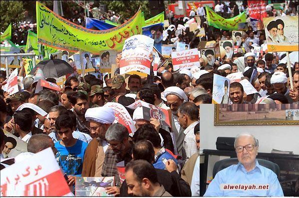 القدومي: دعوة إيران لإقامة مسيرات يوم القدس تبشر بفجر جديد للمسلمين