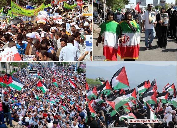 أحمدي نجاد يدعو الشعب الإيراني والشعوب الإسلامية للمشاركة بمسيرات القدس