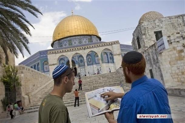 مشاريع اليهود الصهاينة تجاه القدس