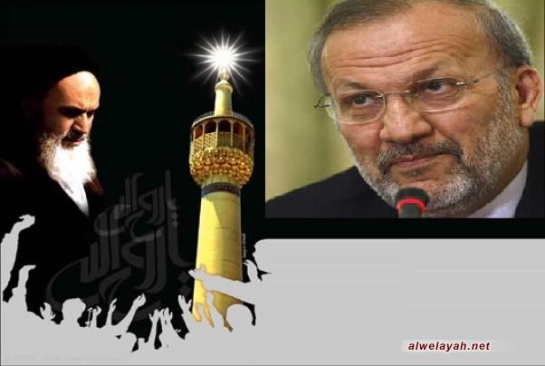 متكي: الإمام قد حول فكرة تحرير فلسطين إلى فكرة دينية وإلهية