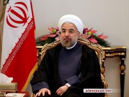الرئيس روحاني: نداء القائد أثبت أن الإسلام يختلف عما يروج له الغرب