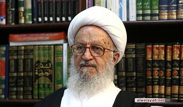 آية الله مكارم شيرازي يدعو للمشاركة في تظاهرات يوم القدس العالمي