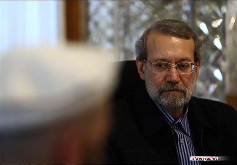 لاريجاني: النظام السعودي ارتكب أخطاء كثيرة طيلة السنوات الماضية لكنني استبعد أن يخرج من هذا المستنقع بسهولة