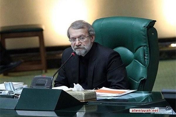 لاريجاني: قائد الثورة الإسلامية قد رسم الصراط المستقيم للثورة