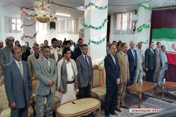 بحضور سفراء الدول الإسلامية احتفال في السفارة الإيرانية بصنعاء بمناسبة ذكرى انتصار الثورة الإسلامية