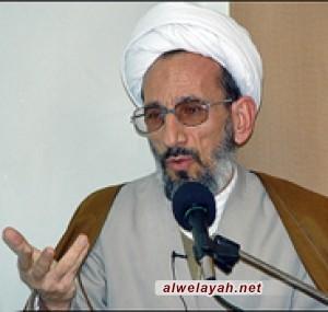 الشيخ عبد اللهي: لقد أثبت الشعب وفضلاء الحوزة بأنهم يذودون عن حريم الولاية