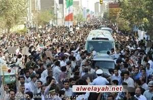 في بيان..نواب المجلس يشكرون قائد الثورة والشريحة العلمائية وأهالي قم